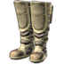 FFXIV - Boarskin Workboots of the Mind (White)
