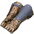 FFXIV - Fingerless Peisteskin Gloves of Toiling (Blue)