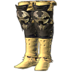 FFXIV - Gryphonskin Thighboots (Yellow)