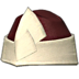 FFXIV - Velveteen Wedge Cap of Crafting (Red)
