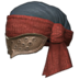 FFXIV - Woolen Turban of Invoking (Red)