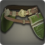 Dated Iron Plate Belt (Green) - Belts and Sashes Level 1-50 - Items