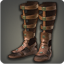 Dated Leather Caligae (Ochre) - Greaves, Shoes & Sandals Level 1-50 - Items