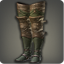 Dated Leather Leggings (Green) - Greaves, Shoes & Sandals Level 1-50 - Items