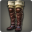 Dated Leather Thighboots (Red) - Greaves, Shoes & Sandals Level 1-50 - Items