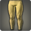Dated Velveteen Tights (Yellow) - Pants, Legs Level 1-50 - Items