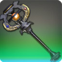 Flame Officer's Cudgel - Black Mage & Thaumaturge Weapons - Items