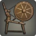 Walnut Spinning Wheel - Weaver Tools - Items
