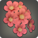 Red Cherry Blossom Corsage - Helms, Hats and Masks Level 1-50 - Items