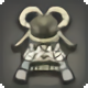 White Inu Kabuto - Helms, Hats and Masks Level 1-50 - Items