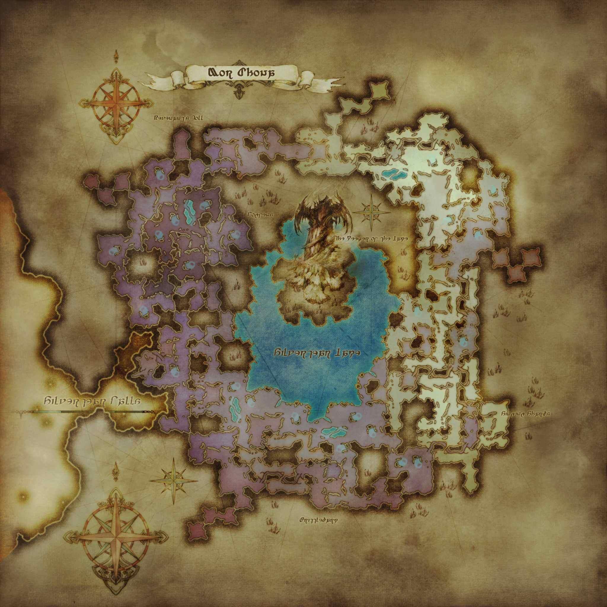 Mor Dhona Maps