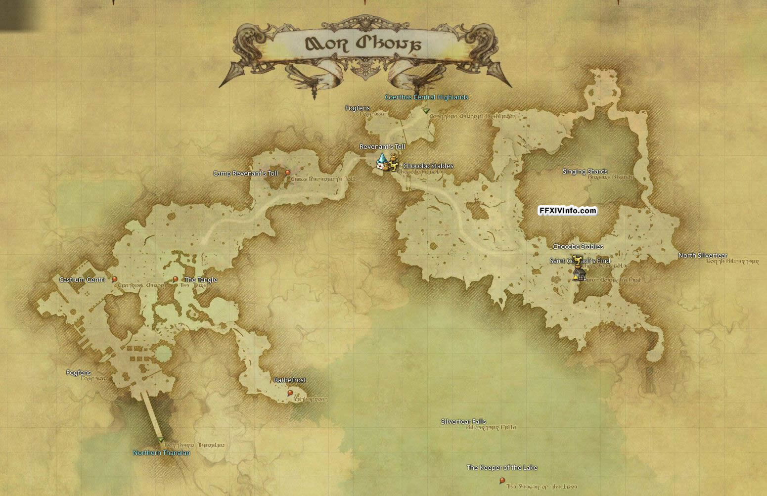 Mor Dhona - Maps | FFXIV: A Realm Reborn Info (FF14)