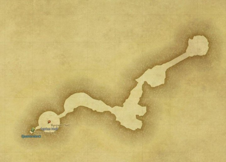 Map of The The Keeper of the Lake Forecastle in FFXIV: A Realm Reborn