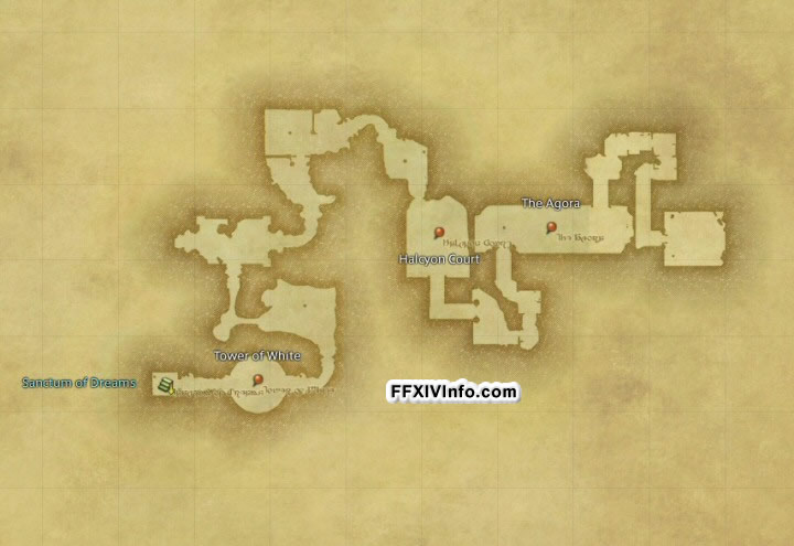 Map of The Lost City of Amdapor - Central Amdapor in FFXIV: A Realm Reborn