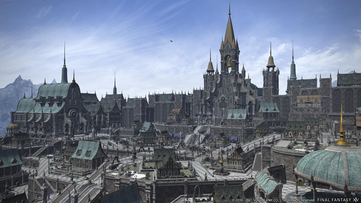 FFXIV Endwalker Expansion - The Ishgard Housing District