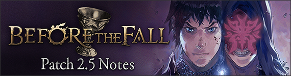FFXIV News - Patch 2.5 Notes (Preliminary)