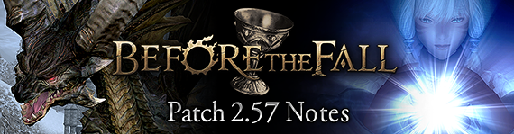 FFXIV News - Patch 2.57 Notes