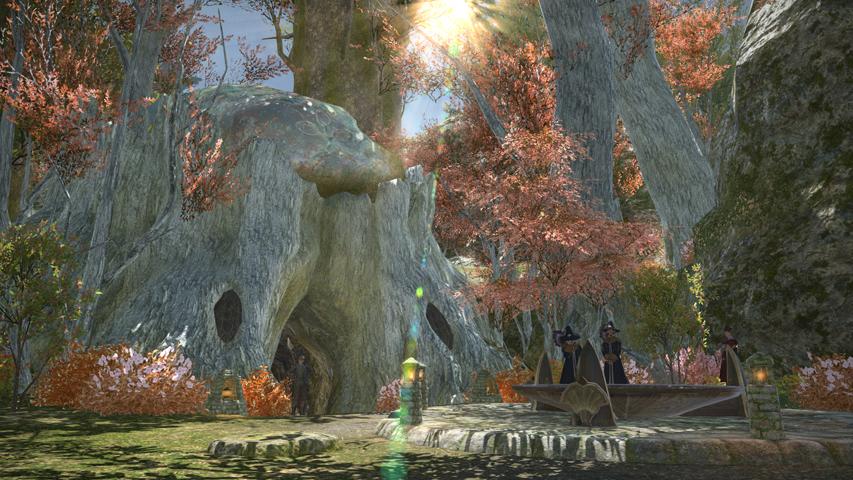 Gridania - Maps   FFXIV: A Realm Reborn Info (FF14)